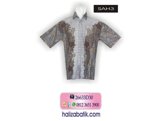 Baju Batik Online, Model Baju Terkini, Baju Batik Modern, SAH3 - 1/1
