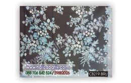 Model Kain Batik, Motif Batik, Gambar Batik, CB219 BIRU