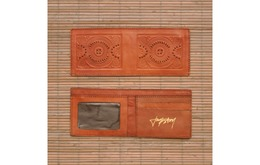 Jackston Dompet Kulit (Maks Kapa) Pria Bohemian Retro Vintage 100% Leather