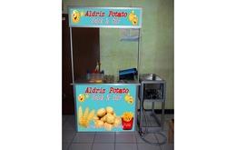 Paket Kemitraan Kentang Ulir & Kentang Stick Booth Portable