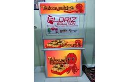 Paket Kemitraan Takoyaki Booth Portable