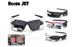 Kacamata tembus pandang Recon jet