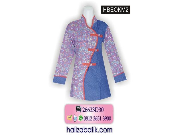 Batik Modern, Jual Batik Online, Baju Online Murah, HBEOKM2 - 1/1