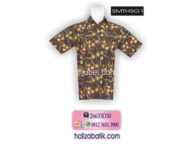 Model Baju Terbaru, Belanja Batik Online, Baju Kerja Batik, SMTHSG1 - 1/1