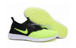 Sepatu Running Nike Juvenate Trainers Black Green