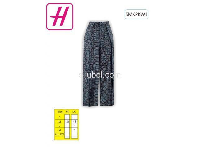 Jual Kulot Batik Pekalongan, Kulot Batik, Baju Batik Modern, SMKPKW1 - 1/1