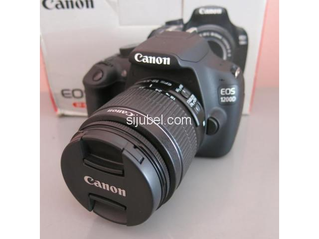 CAMERA DSLR CANON EOS 1200D KIT 18-55mm - 1/4