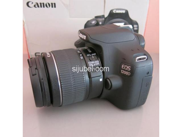 CAMERA DSLR CANON EOS 1200D KIT 18-55mm - 2/4
