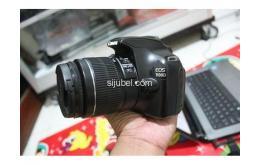 Kamera DSLR Canon EOS 1100D, fullset & segel - Gambar 1/5