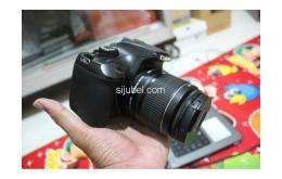 Kamera DSLR Canon EOS 1100D, fullset & segel - Gambar 2/5