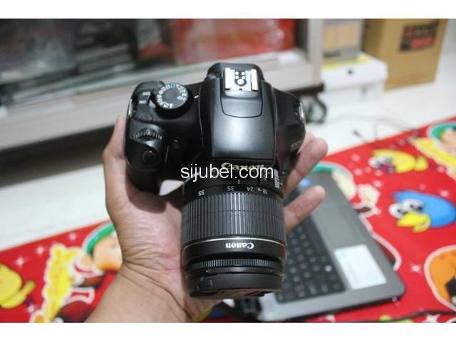 Kamera DSLR Canon EOS 1100D, fullset & segel - 3/5