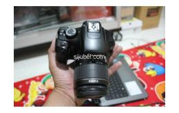 Kamera DSLR Canon EOS 1100D, fullset & segel - Gambar 3/5