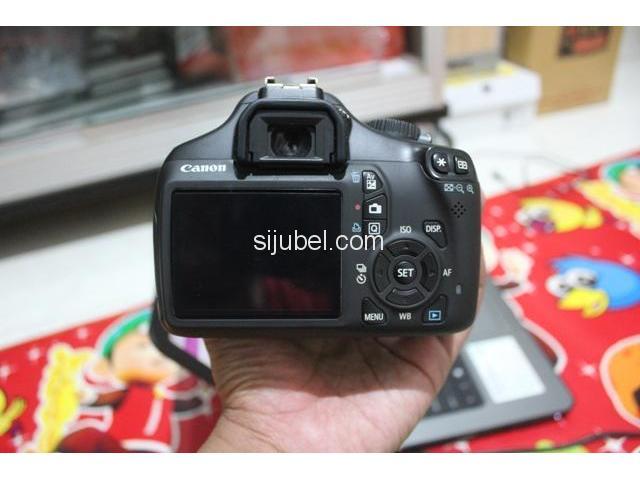 Kamera DSLR Canon EOS 1100D, fullset & segel - 4/5