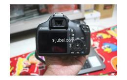 Kamera DSLR Canon EOS 1100D, fullset & segel - Gambar 4/5