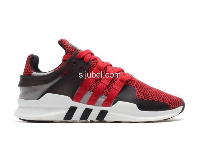 Sepatu Adidas EQT Support ADV Collegiate Red - 1/3
