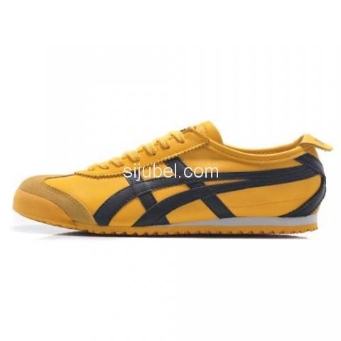 Sepatu Asics Onitsuka Tiger Mexico 66 Yellow Black DL408 - 2/3