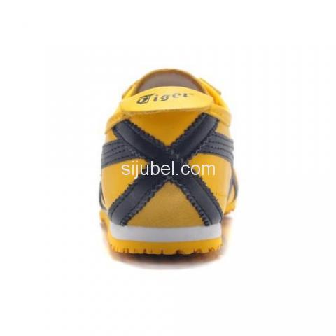 Sepatu Asics Onitsuka Tiger Mexico 66 Yellow Black DL408 - 3/3