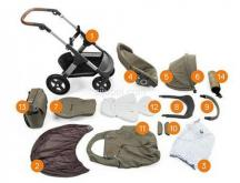 Edisi Eksklusif Green Edition Stokke® Trailz ™