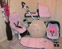 Bugaboo Cameleon 3 Soft Pink Sand Pushchair Carrycot Car Seat Accessory.