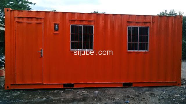 Jual container office 20ft 40ft - 9/10