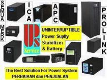 Service Stabilizer dan UPS