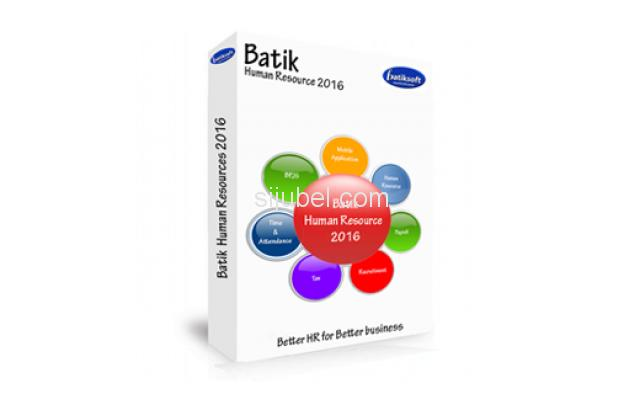 Software Payroll Batik Human Resource System - 1/1