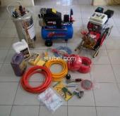 Paket Cuci Steam Salju Mobil Dan Motor Lengkap Buat Usaha
