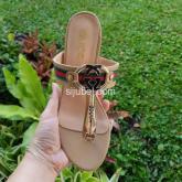 sandal wanita heels kotak model japit import