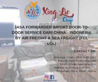 Jasa Cargo China Guangzhou ke Indonesia - Xing Lie Cargo 081296333382