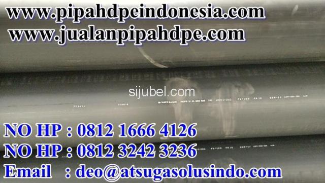pipa hdpe PE-100 dengan kualitas terbaik standart SNI - 2/3
