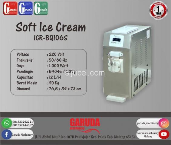 Mesin Pengolah Es Krim ICR-BQ106S - 1/1