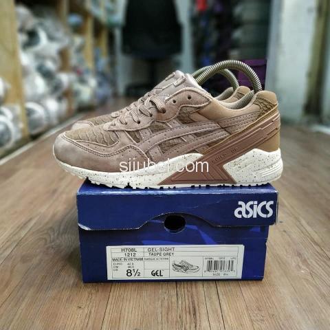 Sepatu Asics Gel Sight Phyton Taupe Grey - 1/4