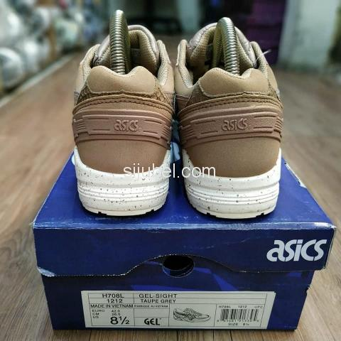 Sepatu Asics Gel Sight Phyton Taupe Grey - 4/4