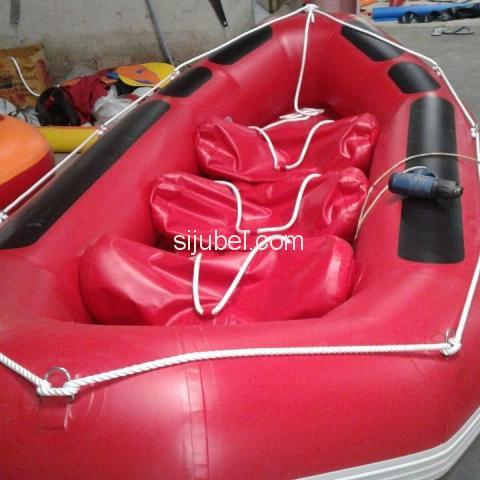 Jual Perahu Karet Rafting Virgo 6 Orang Prahu Rafting Hub 081288802734 - 1/1