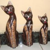 Jual Patung Kucing 1 set