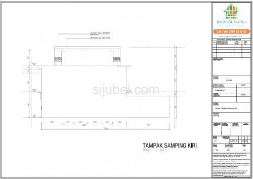 Jasa Gambar Struktur Arsitek Rumah 2 Lantai untuk IMB - 2/4
