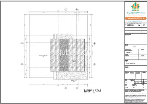 Jasa Gambar Struktur Arsitek Rumah 2 Lantai untuk IMB - 3/4