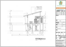 Jasa Gambar Struktur Arsitek Rumah 2 Lantai untuk IMB - Gambar 4/4
