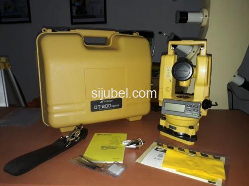 Jual Beli Theodolite Topcon DT-209 Di Tangerang Hub:087775616868 - 2/2