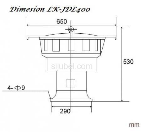 Jual-Pusat Sirine LK JDL400 Ori (WA : 081932632003) - Darmatek - 3/4