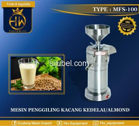 Mesin Penggiling Kacang Kedelai Tipe MFS-100 GETRA - 1/1