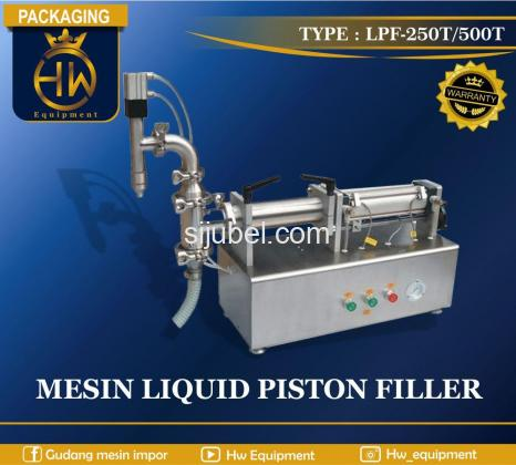 Mesin Pengemas Cairan / Liquid Filler tipe LPF-500T - 1/1
