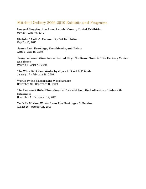 Mitchell Gallery Exhibition Schedule 2009-2010.pdf