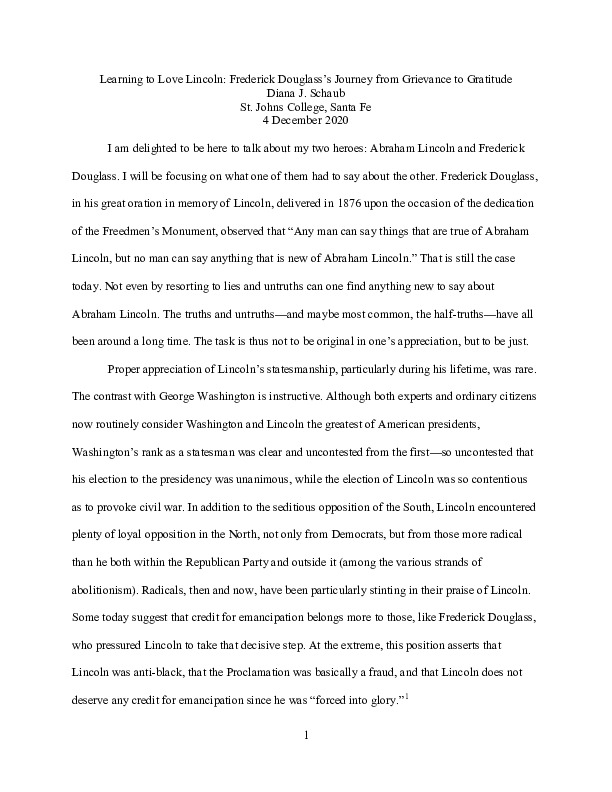 Schaub, D. Learning to Love Lincoln 2020-12-04.pdf