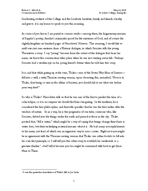 Abbott, Robert (2019 Commencement Address).pdf