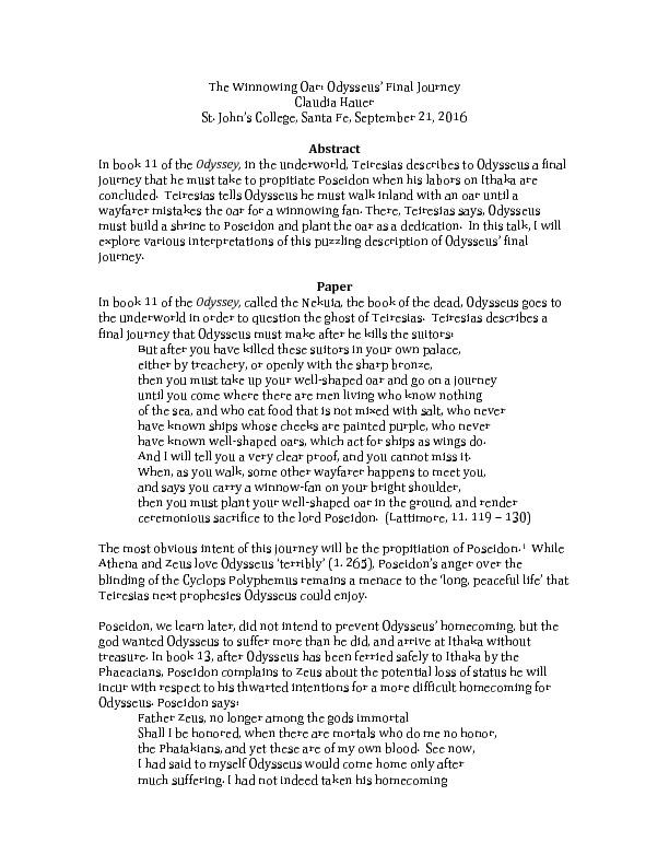 Hauer, C. WinnowingOar.pdf