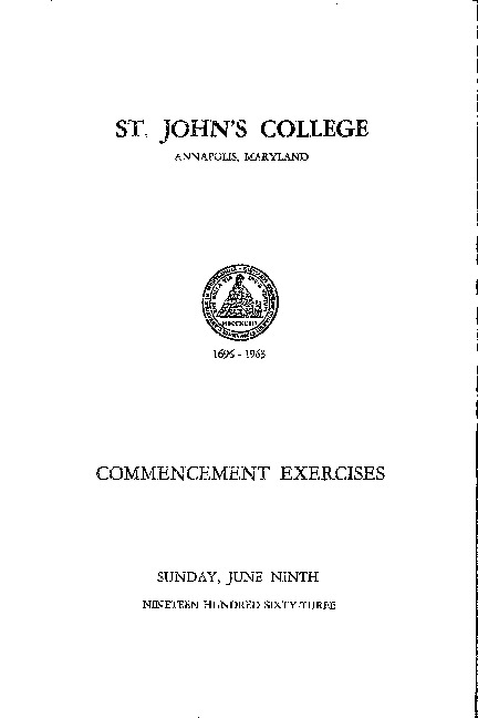 Commencement Exercises from 1963 {1963-06-09}.pdf