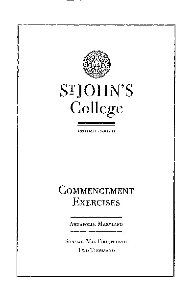 Commencement Exercises from 2000 {2000-05-14}.pdf