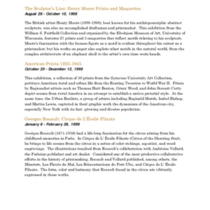 Mitchell Gallery Exhibition Schedule 1998-1999.pdf