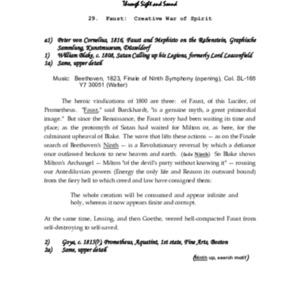 Faust : Creative War of Spirit, Symbolic History, Part 29
